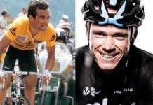 Hinault (fb) - Chris Froome (fb)