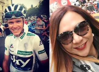 Goga Froome Giro de Italia (Ph. Froome tw - Bicigoga tw)