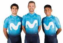 Nairo Quintana - Alejandro Valverde - Mikel Landa (Ph. Movistar team)