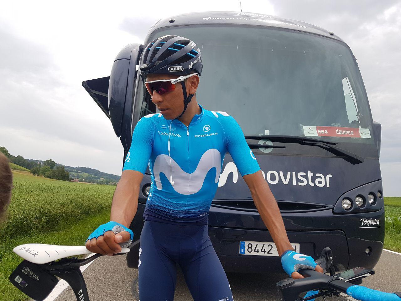 Nairo Quintana - Tour de Francia (ph. Movistar Team) - Escarabajos Colombianos