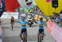 Giro de Italia sub 23 Colombia (Ph. FCC) Escarabajos Colombianos