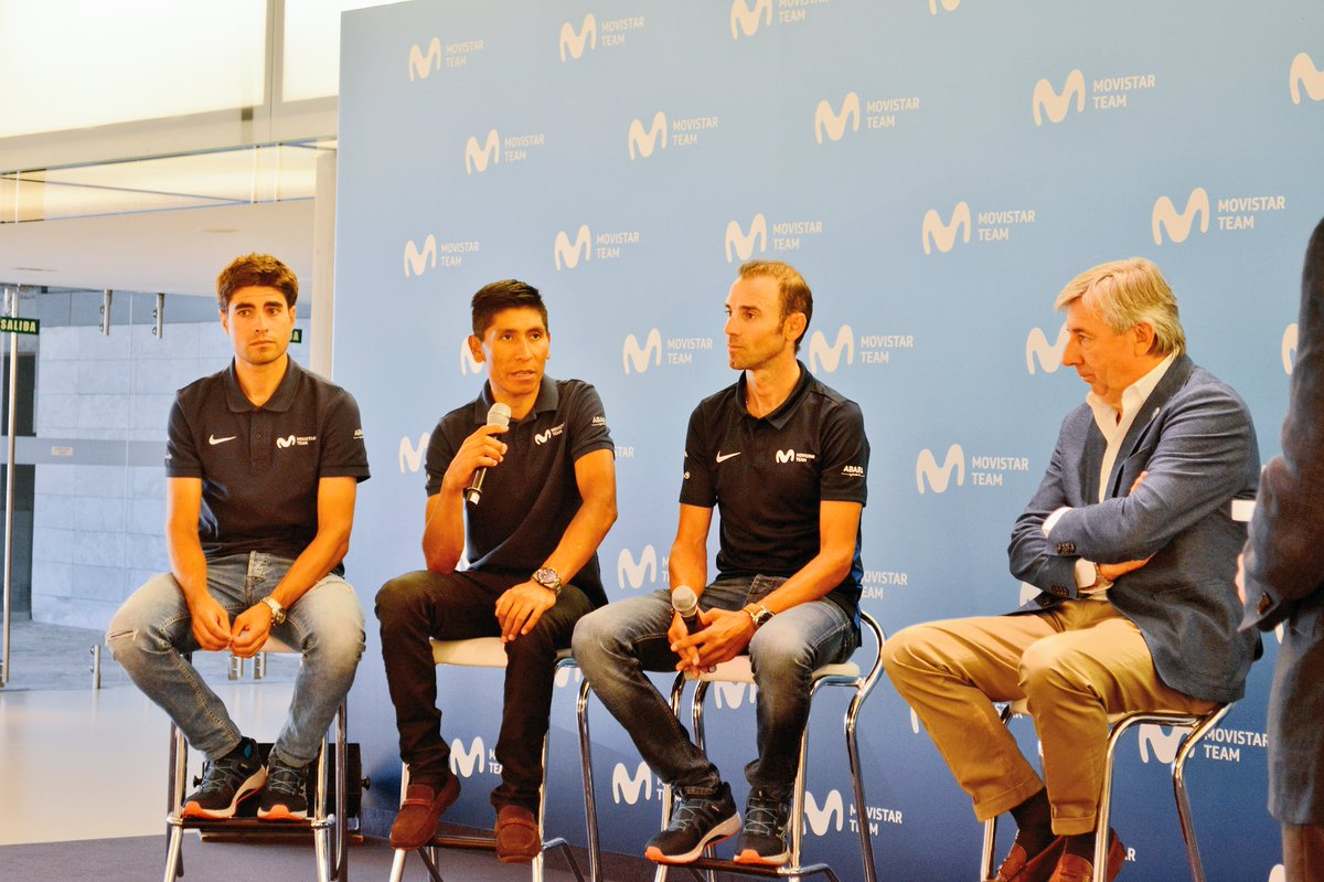 Nairo Quintana Mikel Landa (Ph. Movistar Team tw) - Escarabajos Colombianos