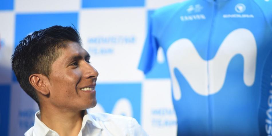 Nairo Quintana - Tour de Francia (Ph. Movistar Team)- Escarabajos Colombianos