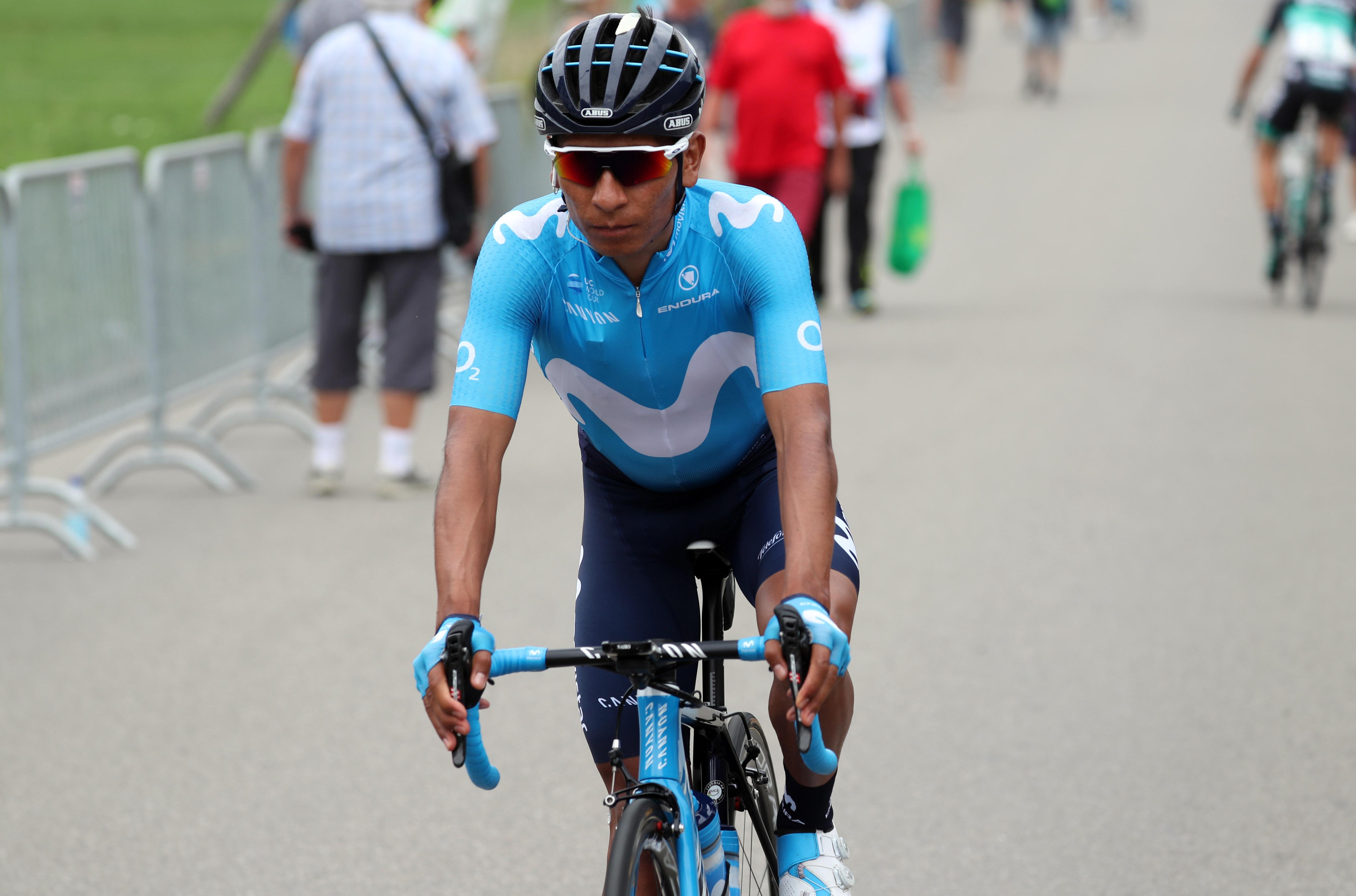 Nairo Quintana - Tour de Francia (ph. Movistar Team) Escarabajos Colombianos