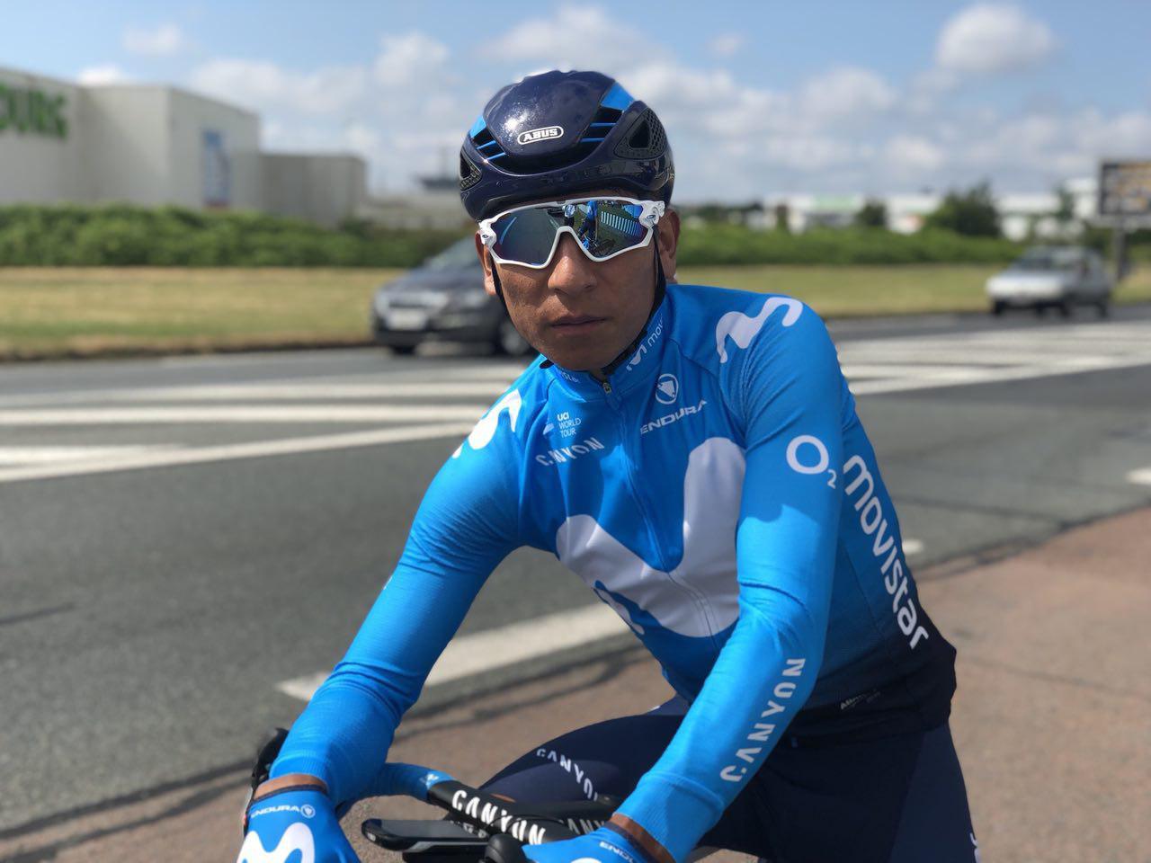 Nairo Quintana Tour de Francia - (Ph. Movistar Prensa) - Escarabajos Colombianos