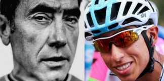 Egan Bernal - Eddy Merckx Tour de Francia (Ph. Team Sky tw) - Escarabajos Colombianos