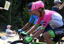 Nairo Quintana - Rigoberto Urán Tour de Francia 1 (ph. LeTour tw) Escarabajos Colombianos