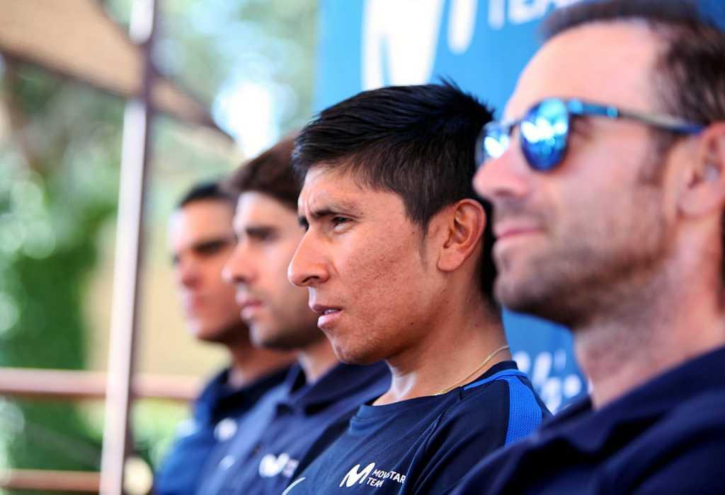 Nairo Quintana análisis 3ra semana Tour de Francia - (Ph. Movistar Prensa) - Escarabajos Colombianos