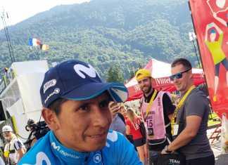 Nairo Quintana - Tour de Francia (Ph. Prensa Movistar) Escarabajos Colombianos