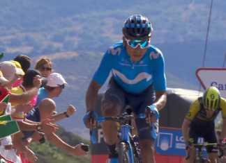 Nairo Quintana 14 - La Vuelta a España (ph. Movistar Team) - Escarabajos Colombianos