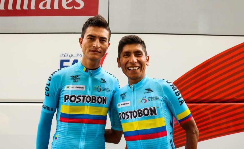 Nairo Quintana - Winner Anacona - Mundial de Innsbruck (ph 2. Fedeciclismo) - Escarabajos Colombianos