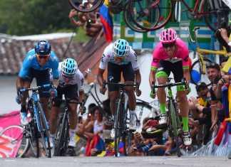 Nairo Quintana - Egan Bernal - Rigoberto Urán- Ph. Tour Colombia - Escarabajos Colombianos