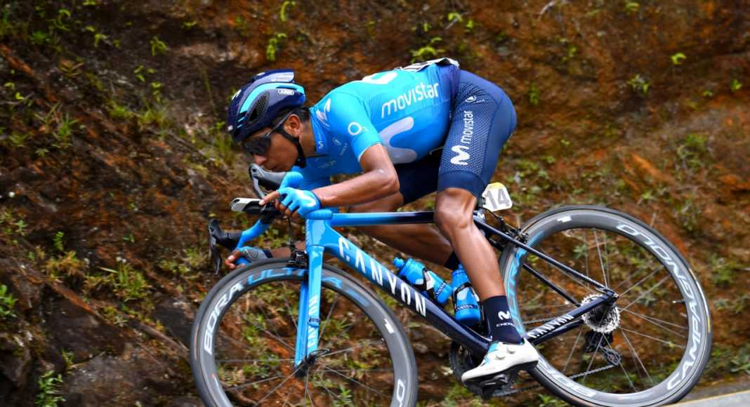 Nairo Quintana equipo - Tour Colombia 2.1 (Ph. Movistar Team - Bettinni Photo) - Escarabajos Colombianos