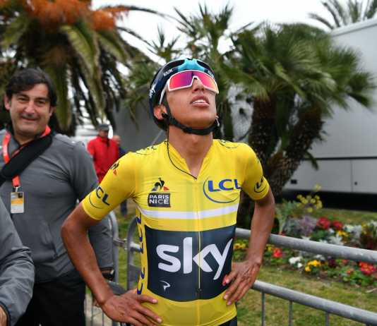 Egan Bernal Campeón París Niza (Ph2. Getty Images - Team Sky) - Escarabajos Colombianos