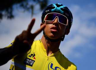 Egan Bernal Campeón París Niza (Ph3. Getty Images - Team Sky) - Escarabajos Colombianos
