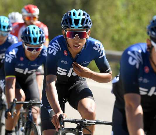 Egan Bernal - Vuelta a Cataluña etapa 3 (Ph1. Getty Images - Team Sky tw) - Escarabajos Colombianos