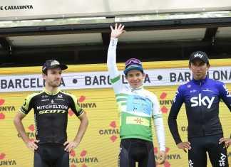 Miguel Ángel López Vuelta a Cataluña Campeón - (Ph. Astana tw - Getty Sport) - Escarabajos Colombianos