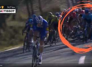 Nairo Quintana - Accidente etapa 6 Paris Niza - Escarabajos Colombianos