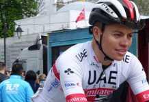 Cristián Muñoz Tour de Turquía. Ph. UAE Team Emirates. Escarabajos Colombianos