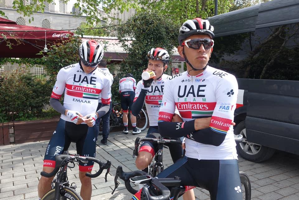 Juan Sebastián Molano Tour de Turquía Et 1. Ph. UAE Team Emirates - Escarabajos Colombianos Estado de Salud