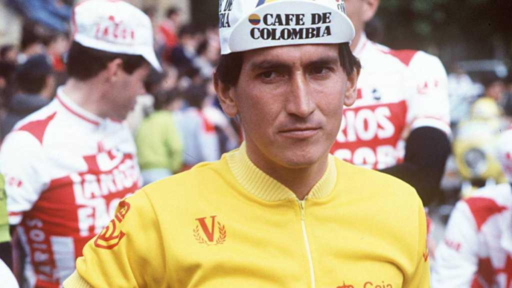 Lucho Herrera (Ph. via As) - Escarabajos Colombianos Ciclistas Colombianos Egan Bernal