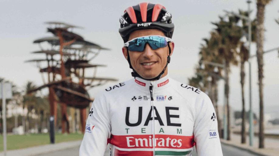 Sergio Luis Henao Flecha- UAE Team Emirates ph. Escarabajos Colombianos