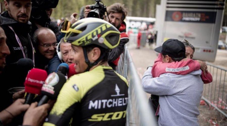 Esteban Chaves - Etapa 17 del Giro de Italia ph. Kristoff Ramon - Escarabajos Colombianos