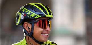 Esteban Chaves Giro de Italia etapa 11 (Ph. Mitchelton Scott tw - Getty Images) - Escarabajos Colombianos
