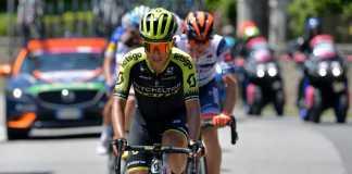 Esteban Chaves Giro de Italia etapa 18 (Ph. Mitchelton Scott tw - Getty Images) - Escarabajos Colombianos