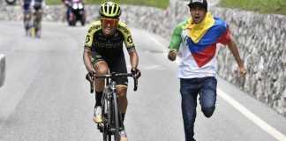 Esteban Chaves Giro de Italia etapa 19 (Ph2. Giro d'Italia) - Escarabajos Colombianos