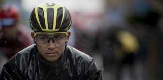 Esteban Chaves Giro de Italia etapa 4 (Ph. Mitchelton Scott tw - Getty Images) - Escarabajos Colombianos