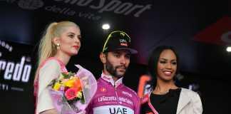 Fernando Gaviria - Etapa 3 Podio Giro de Italia (Ph. Giro d'Italia tw) - Escarabajos Colombianos