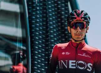 Iván Ramiro Sosa Giro de Italia 2019 - Ph. Team Ineos tw- Tha Russell Ellis - Escarabajos Colombianos