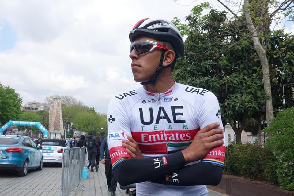 Sebastián Molano objetivos Giro de Italia 2020- Ph. UAE Team Emirates - Escarabajos Colombianos