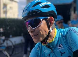 Miguel Ángel López - Giro de Italia 2019 Día uno de descanso (Ph. Astana tw) - Escarabajos Colombianos