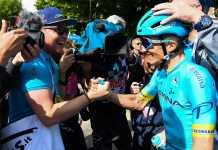 Pello Bilbao - Giro de Italia 2019 etapa 7 (Ph. Giro d'Italia) - Escarabajos Colombianos