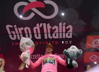 Primoz Roglic - Giro de Italia et. 5. Ph2. Giro de Italia - Escarabajos Colombianos