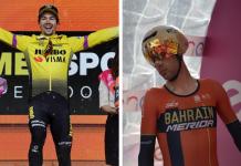 Primoz Roglic - Vincenzo Nibali - Ph. Ph. Giro D'Italia- Escarabajos Colombianos