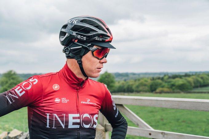Chris Froome - Criterium de Dauphiné previa etapa 4 - Ph. Team Ineos tw - Escarabajos Colombianos