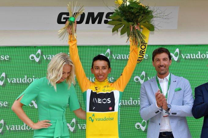 Egan Bernal - Campeón Tour de Suiza (Ph. Team Ineos tw) - Escarabajos Colombianos