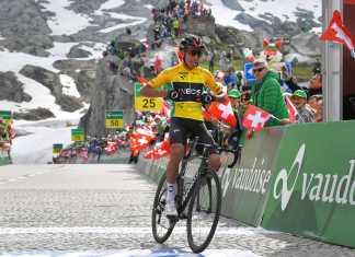 Egan Bernal - Tour de Suiza etapa 7 (Ph. Team Ineos fb) - Escarabajos Colombianos