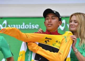 Egan Bernal - Tour de Suiza etapa 8 (Ph. Team Ineos tw) - Escarabajos Colombianos