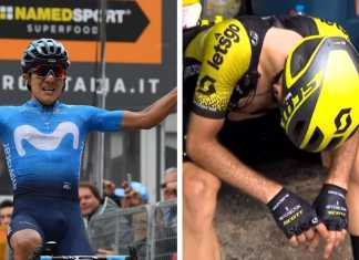 Richard Carapaz - Simon Yates - Giro de Italia 2019 Etapa 4 (Ph.2 Giro d'Italia) - Escarabajos Colombianos