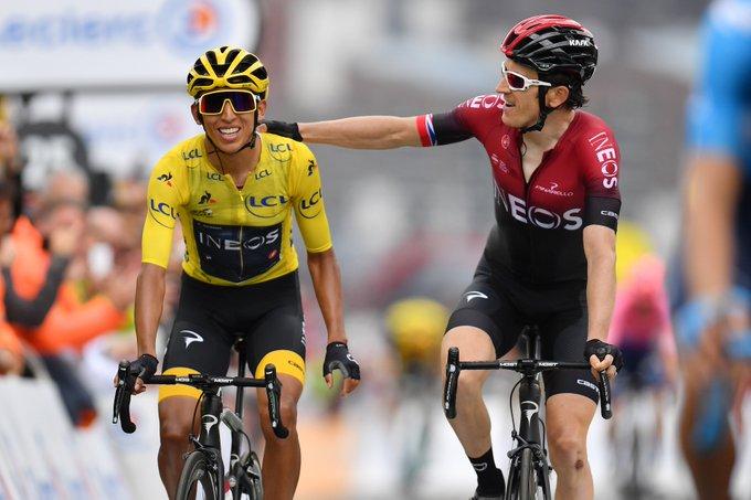 Egan Bernal y Thomas meta etapa 20 Tour de Francia Narrador