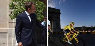 Egan Berna Emmanuel Macron presidente Francia