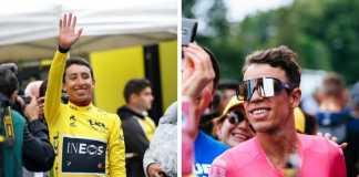 Egan Bernal Rigoberto Urán Tour de Francia 2019