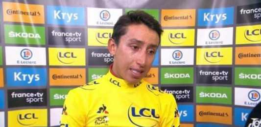 Egan Bernal narración España etapa 19 Tour de Francia