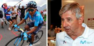 Eusebio Unzue Nairo Quintana Tour de Francia 2019