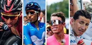 Primera semana colombianos Tour de Francia