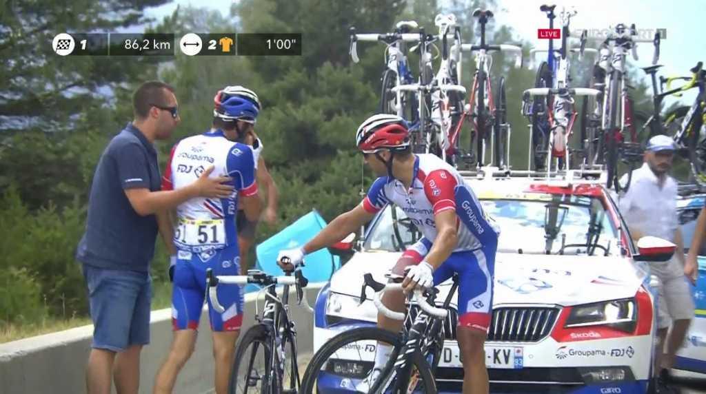 Thibaut Pinot retiro Tour de Francia